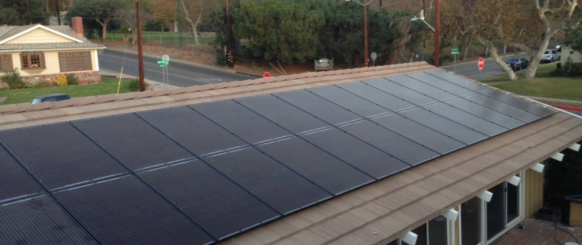 SolarWorld Installation in Burbank, CA