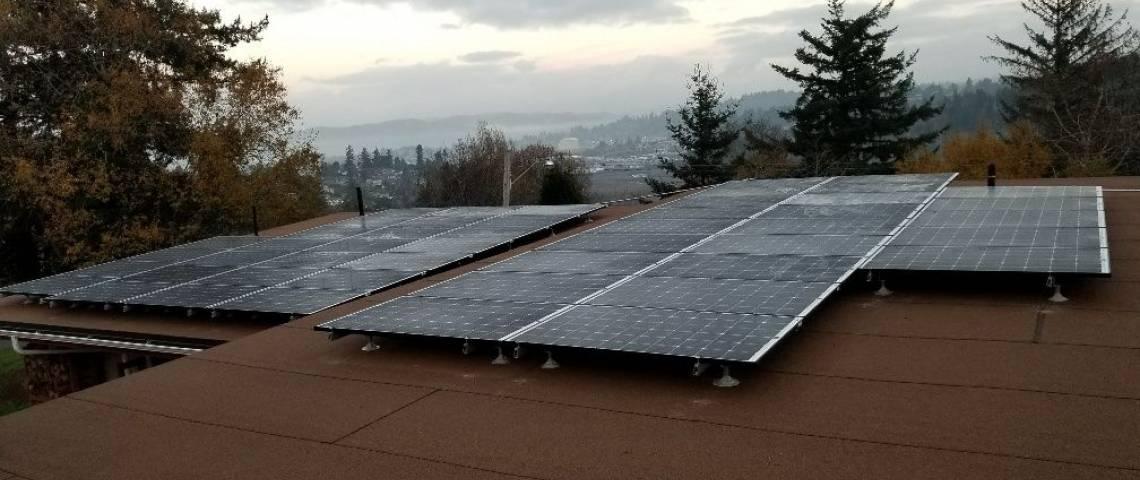 Solar Energy System in Crescent City, CA - SolarWorld Panels