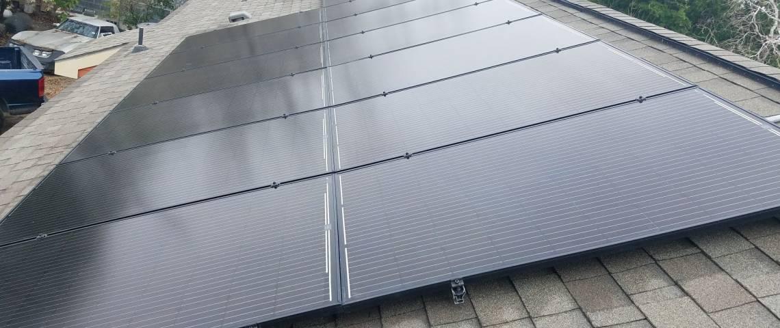 Solar Power System in Harlingen, TX - Rooftop Installation