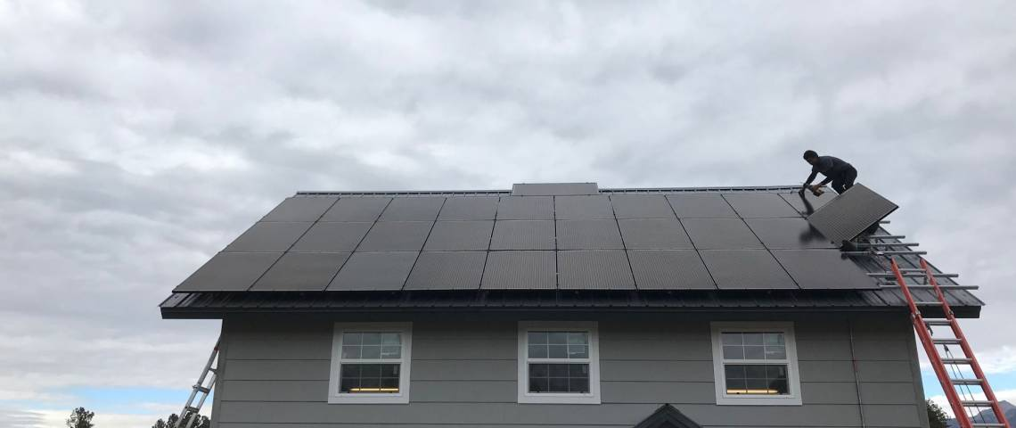 Solar Energy System in Pagosa Springs, CO - SolarWorld Panels