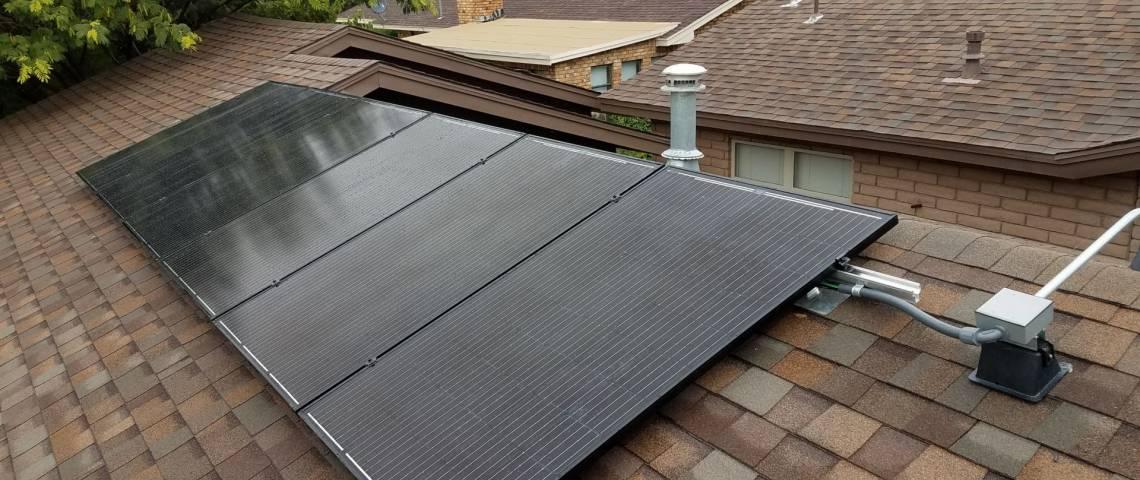 Solar Energy System in Portales, NM - Sleek Installation