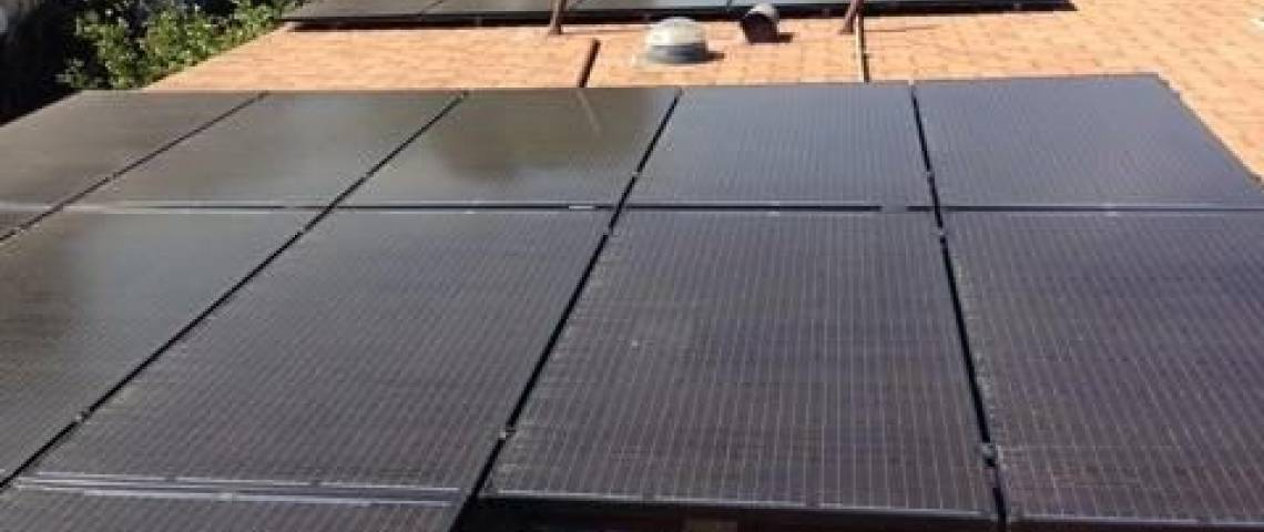 Solar Energy System in Lakewood, CA - SolarWorld Panels