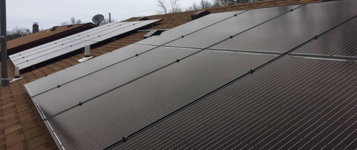 Solar Power System in Arnold, MO - SolarWorld Panels