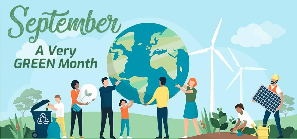 September Green Holidays