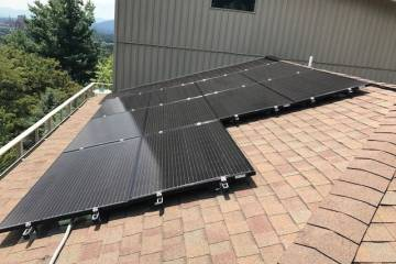 Roof Mount Solar Panel Installation In Asheville, NC   2