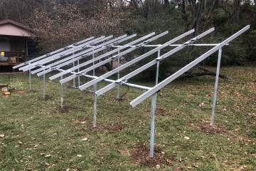 Ground Mount Solar Energy System in Hollister, MO