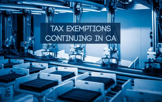 Solar Tax Exemptions in CA