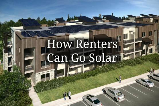 How Renters Can Go Solar