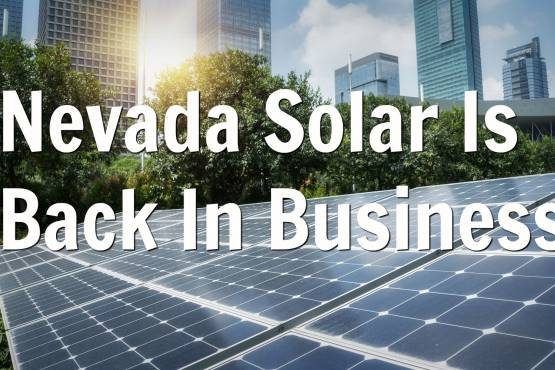 nevada solar energy net metering