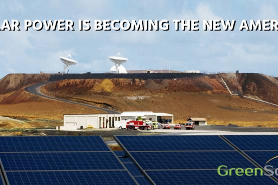 Solar Power is Becoming the New America