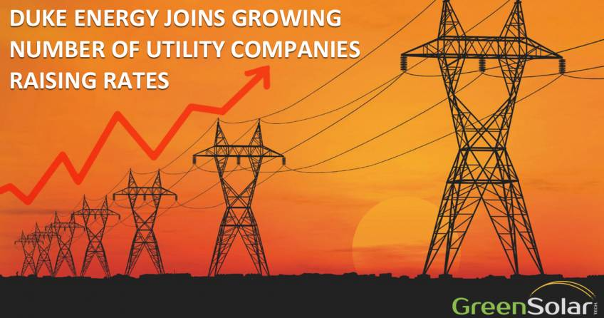 DUKE ENERGY JOINS GROWING NUMBER OF UTILITY COMPANIES RAISING RATES BLOG IMAGE