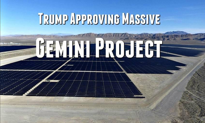 Trump Approves Gemini Project