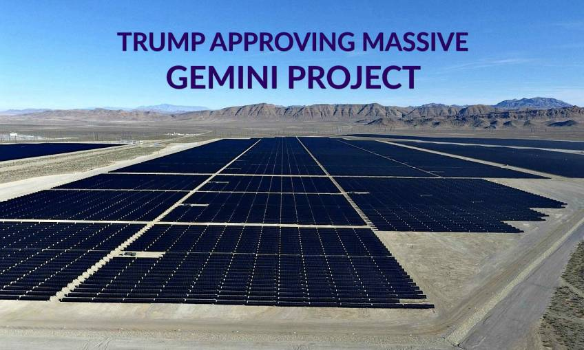 Trump Approves Gemini Project
