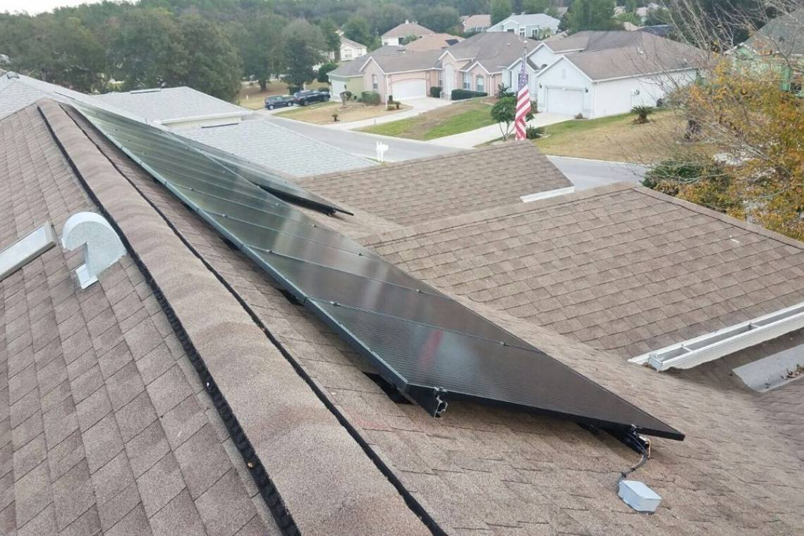 Roof Mount Solar Panel Installation in Minden, LA