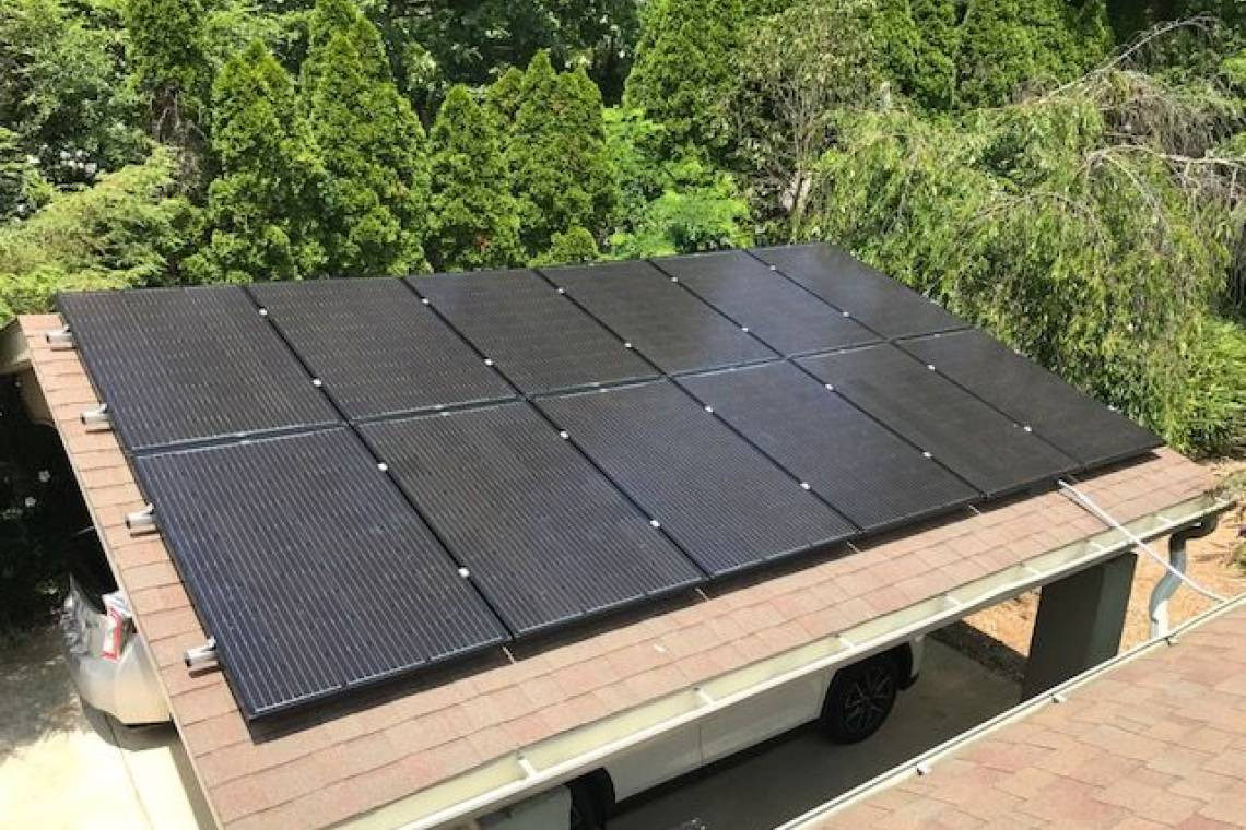 Roof Mount Solar Panel Installation in Asheville, NC - 5