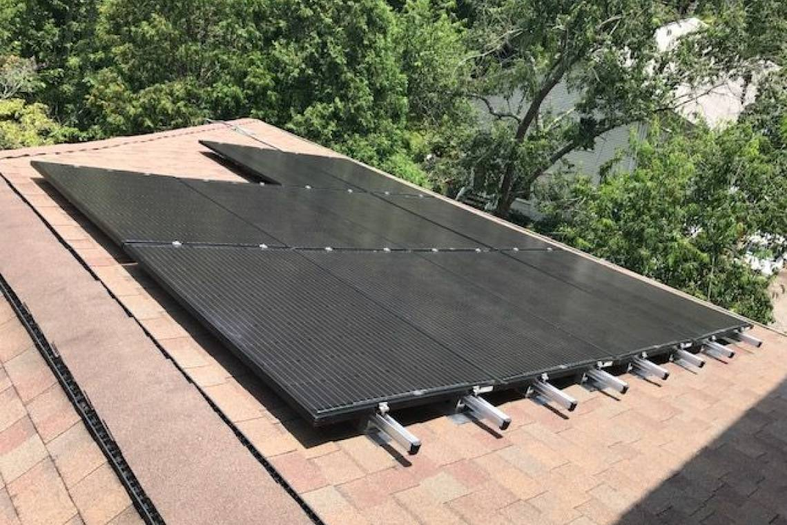 Roof Mount Solar Panel Installation in Asheville, NC - 3