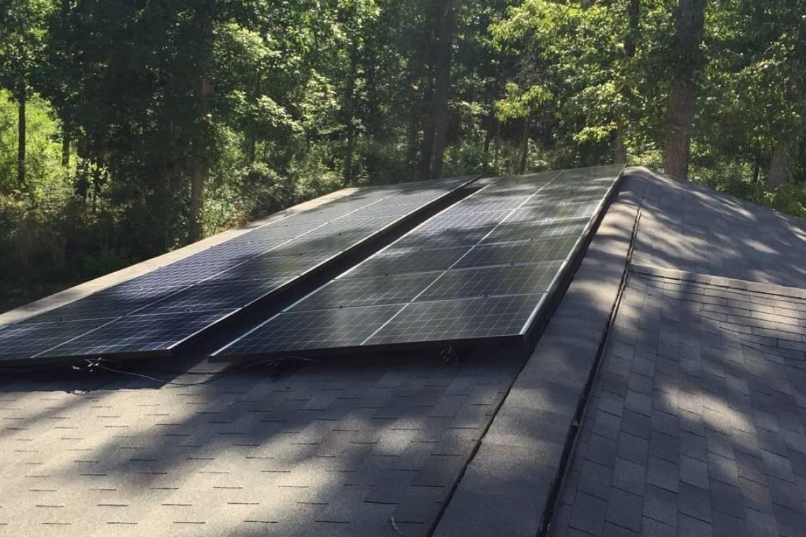 Corrugated Steel Roof Solar Panel Installation in Bon Wier, TX (5.22 k
