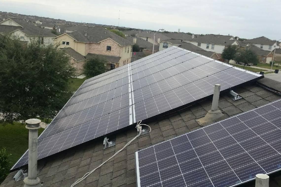 Roof Mount Solar Panel Installation In New Braunfels Tx