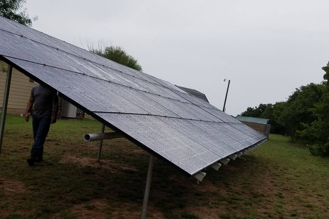 Roof Mount Solar Panel Installation in Clyde, TX - 4