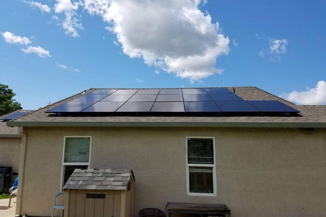 Roof Mount Solar Installation in Sacramento, CA  - 3