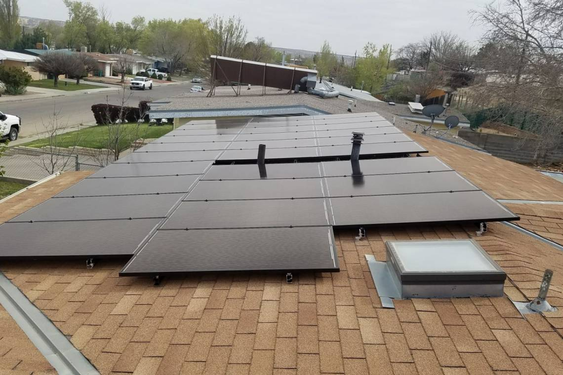 Roof Mount Solar Panel Installation in Farmington, NM - 3