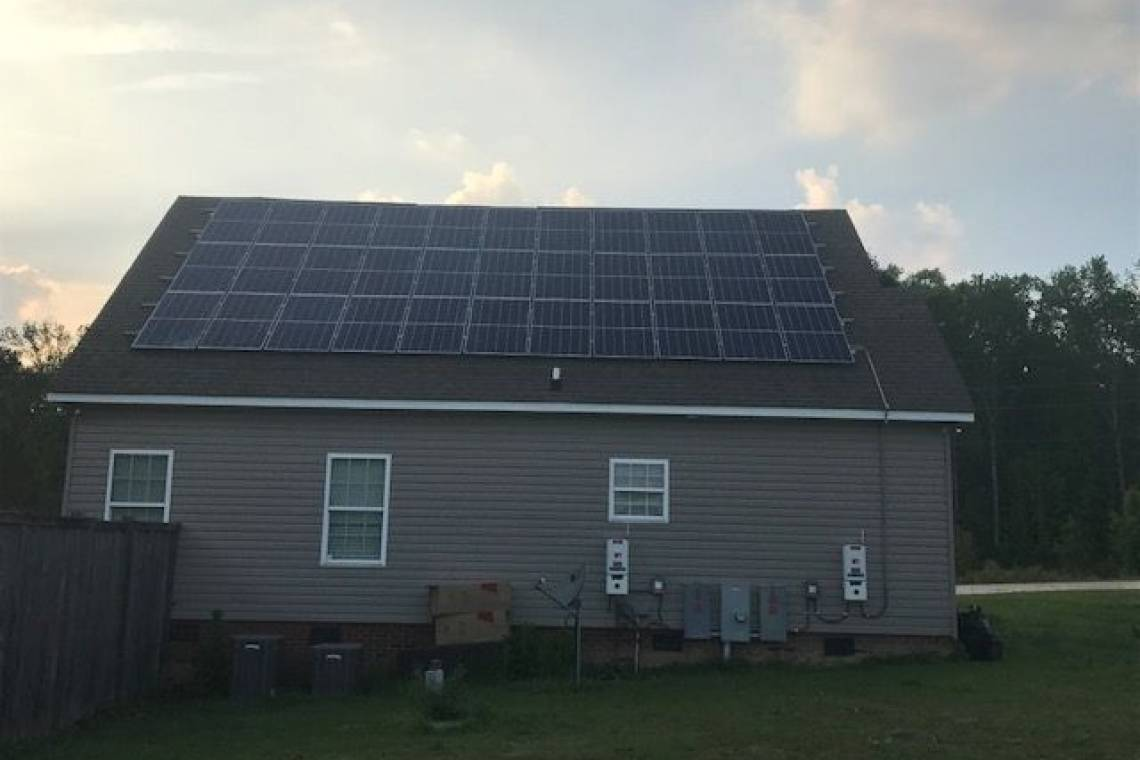 Roof Mount Solar Panel Installation in Spring Lake, NC  - 1
