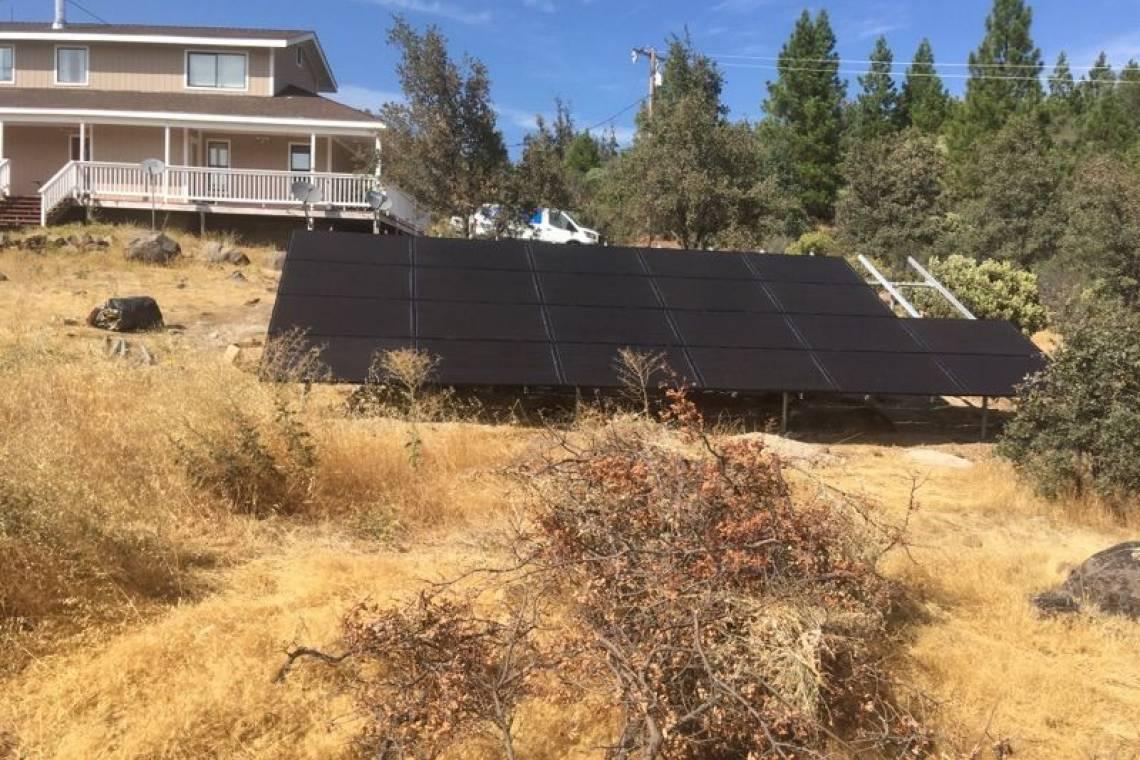 Solar Panel Installation in Round Mountain, CA - 2