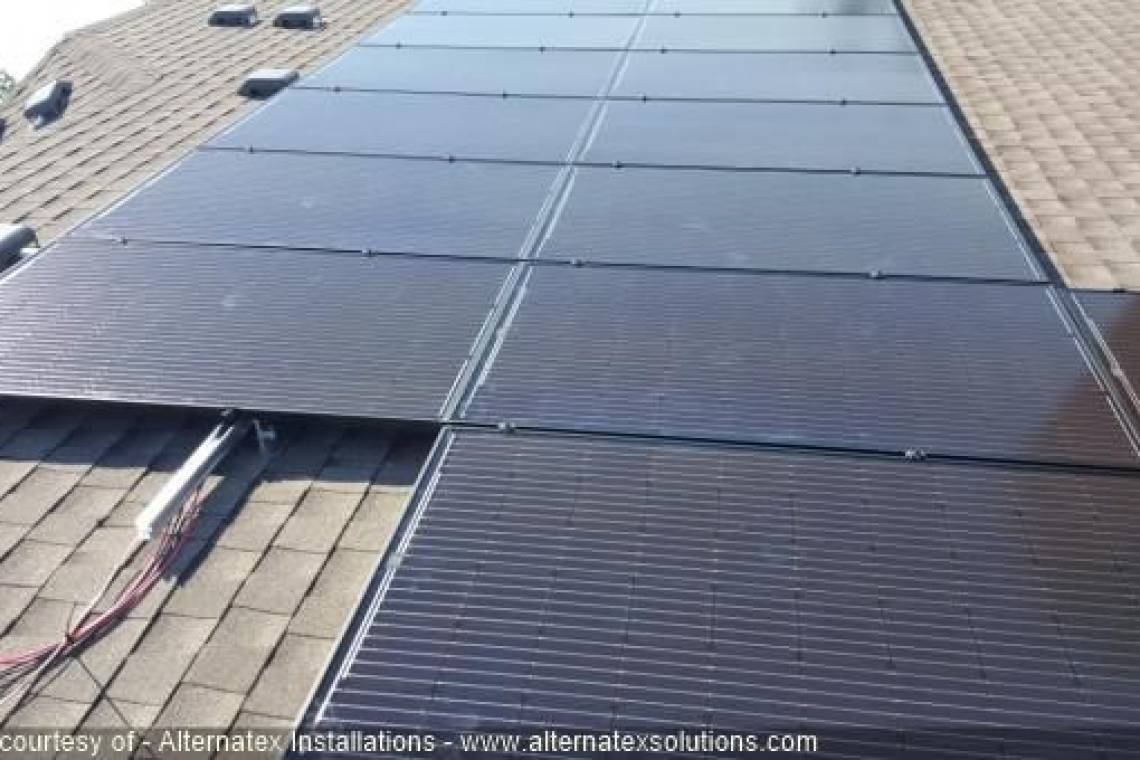 Roof Mount Solar Panel Installation in Amarillo, TX - 3