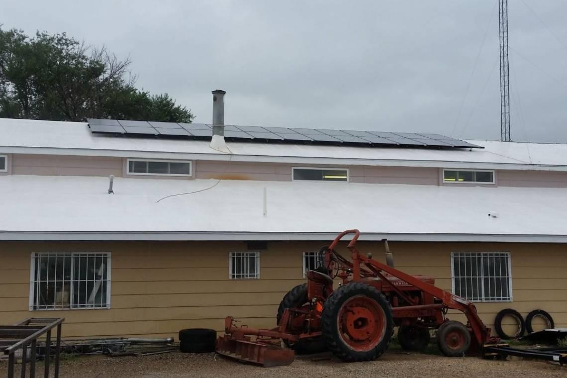 Roof Mount Solar Panel Installation in La Junta, CO - 2