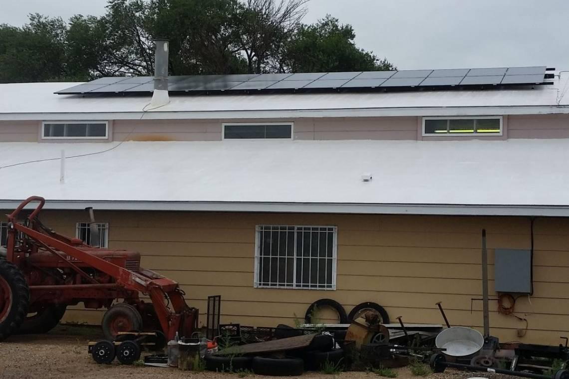 Roof Mount Solar Panel Installation in La Junta, CO - 1