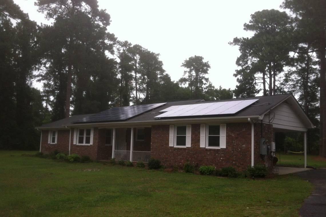 Roof Mount Solar Panel Installation in Darlington, SC - 4