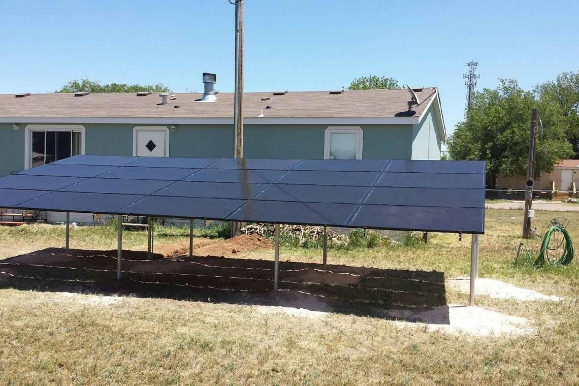 Texico, NM Solar Panel Installation - 3