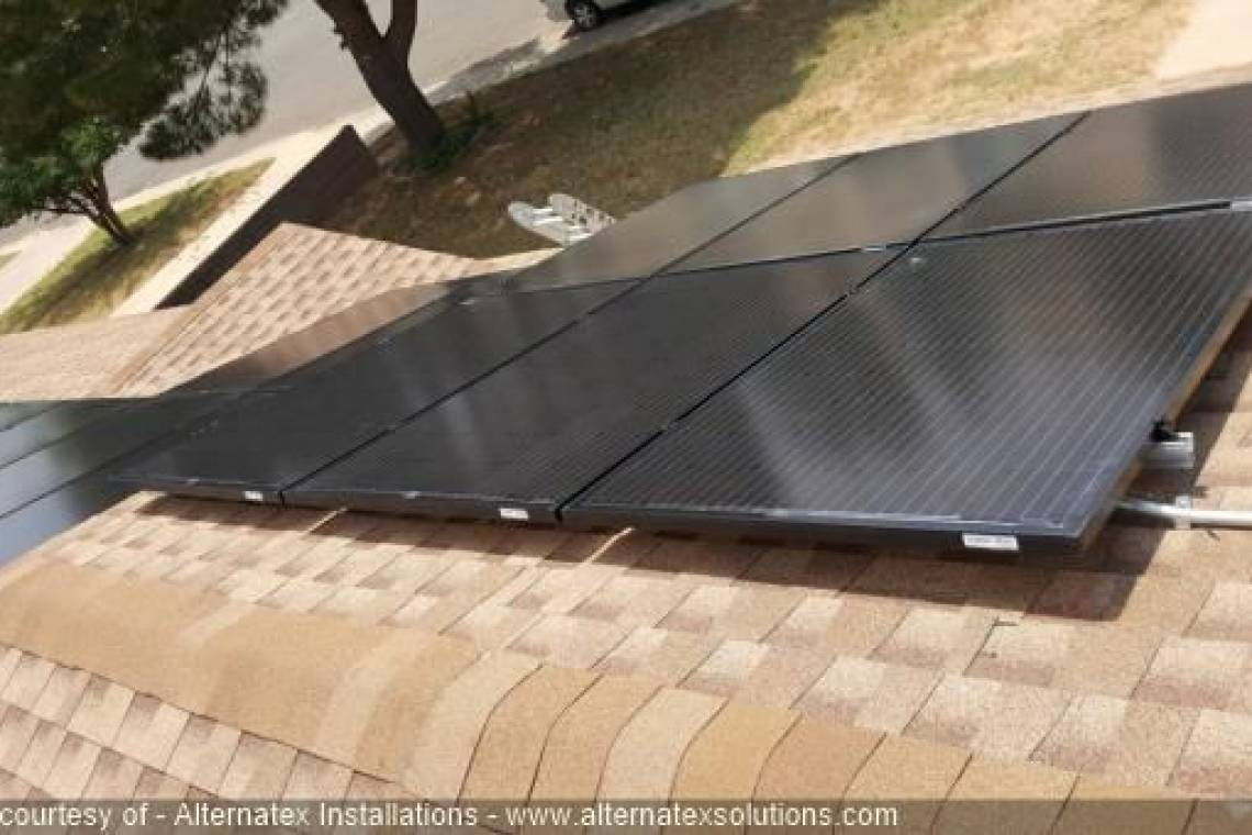Roof Mount Solar Panel Installation in Midland, TX - 3