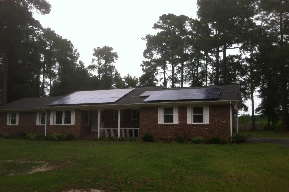 Roof Mount Solar Panel Installation in Darlington, SC - 3