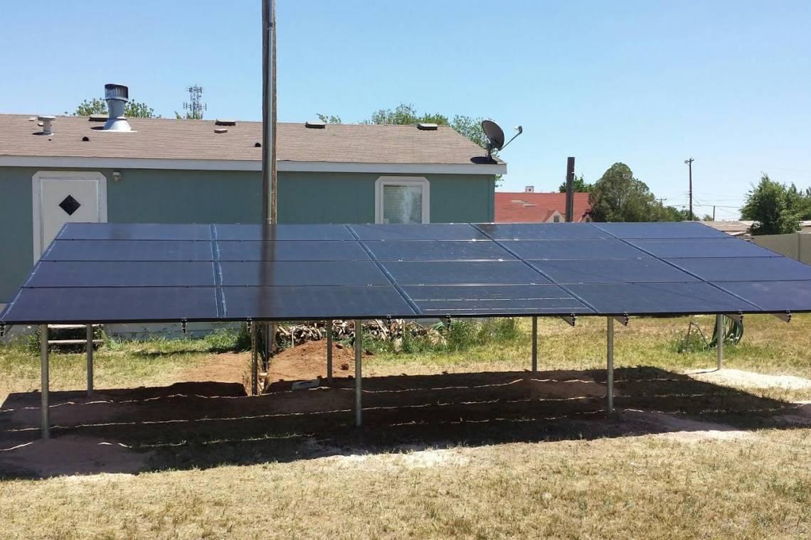 Texico, NM Solar Panel Installation - 2