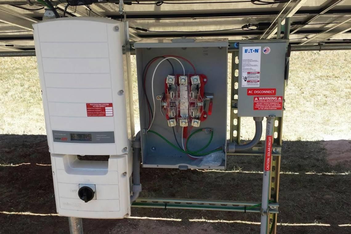 Texico, NM Solar Panel Installation - 1