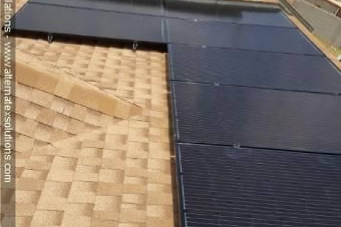 Roof Mount Solar Panel Installation in Midland, TX - 1
