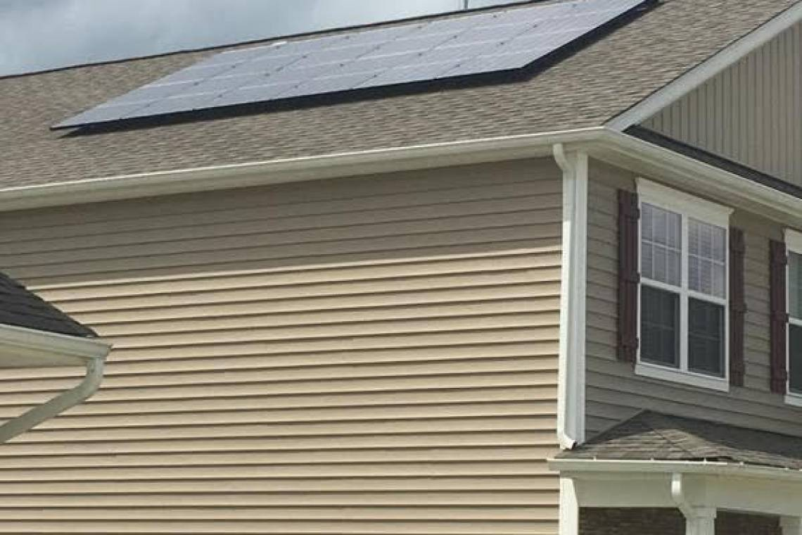 Roof Mount Solar Panel Installation in Pfafftown, NC - 1