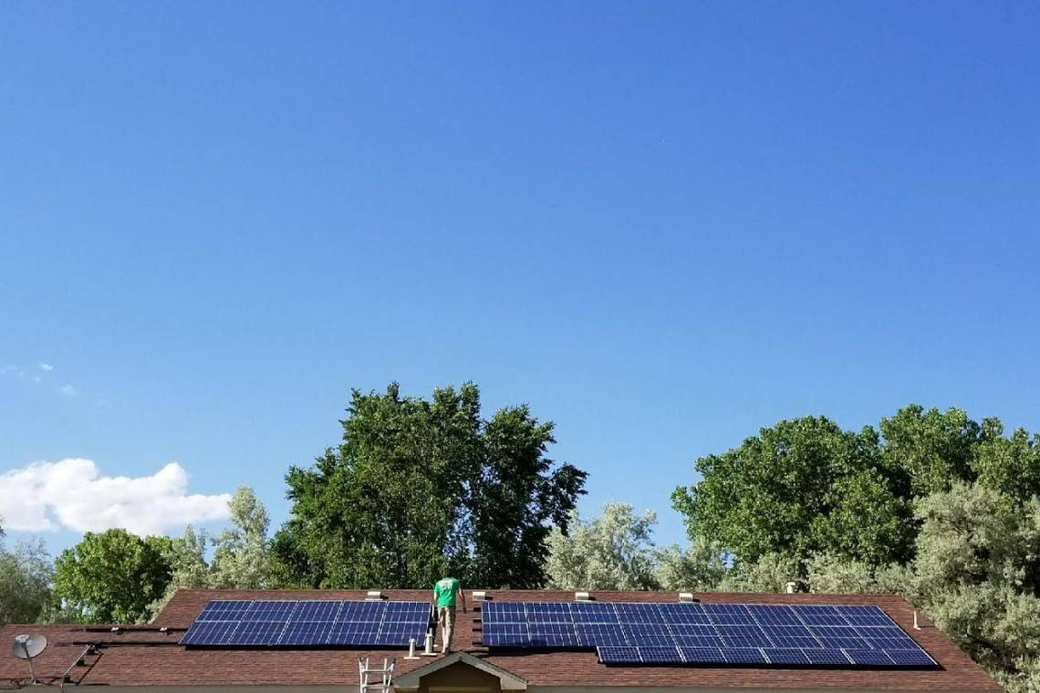 Roof Mount Solar Installation in Bloomfield, NM - 2