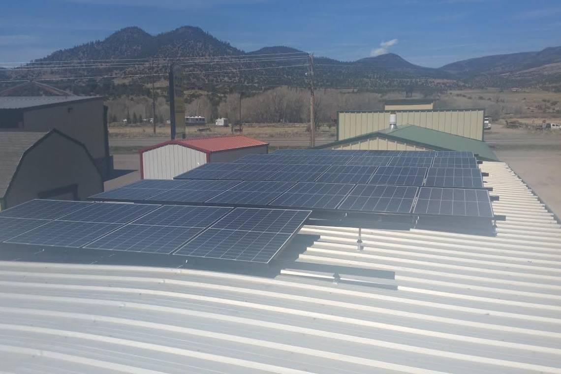 South Fork, CO Solar Panel Installation - 1