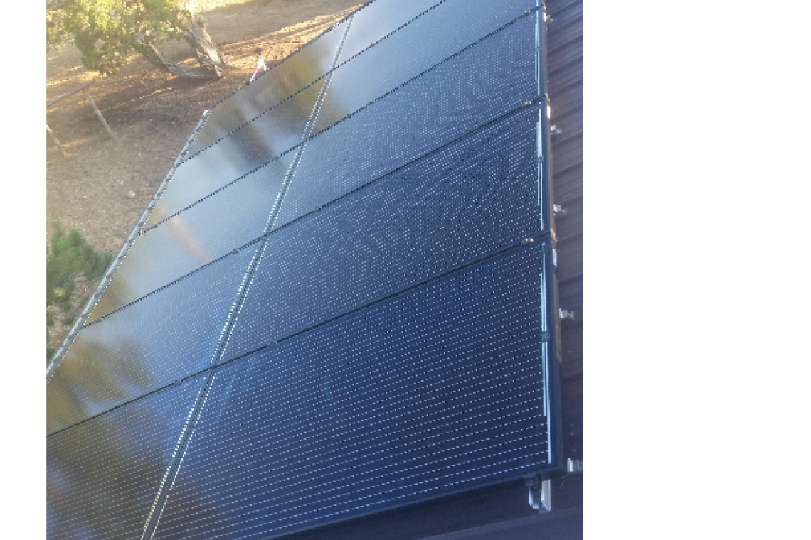 Roof Mount Solar Panel Installation in Cortez, CO  - 1