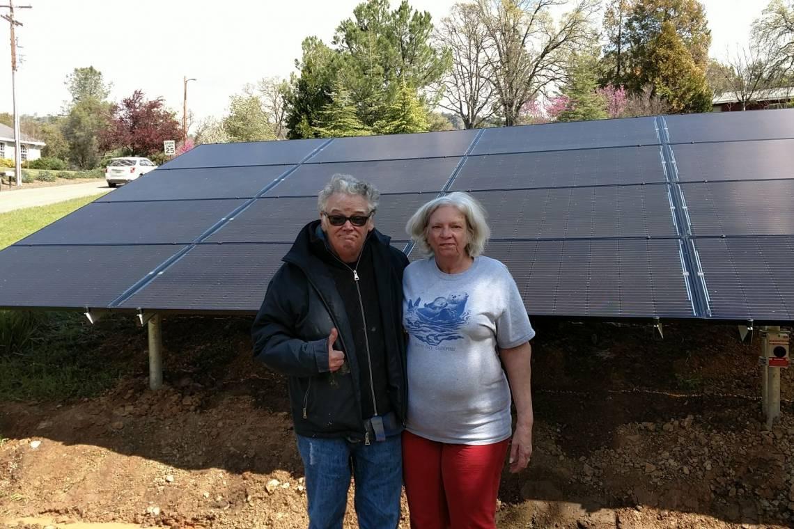 Ground Mount Solar Installation in Mariposa, CA - 7