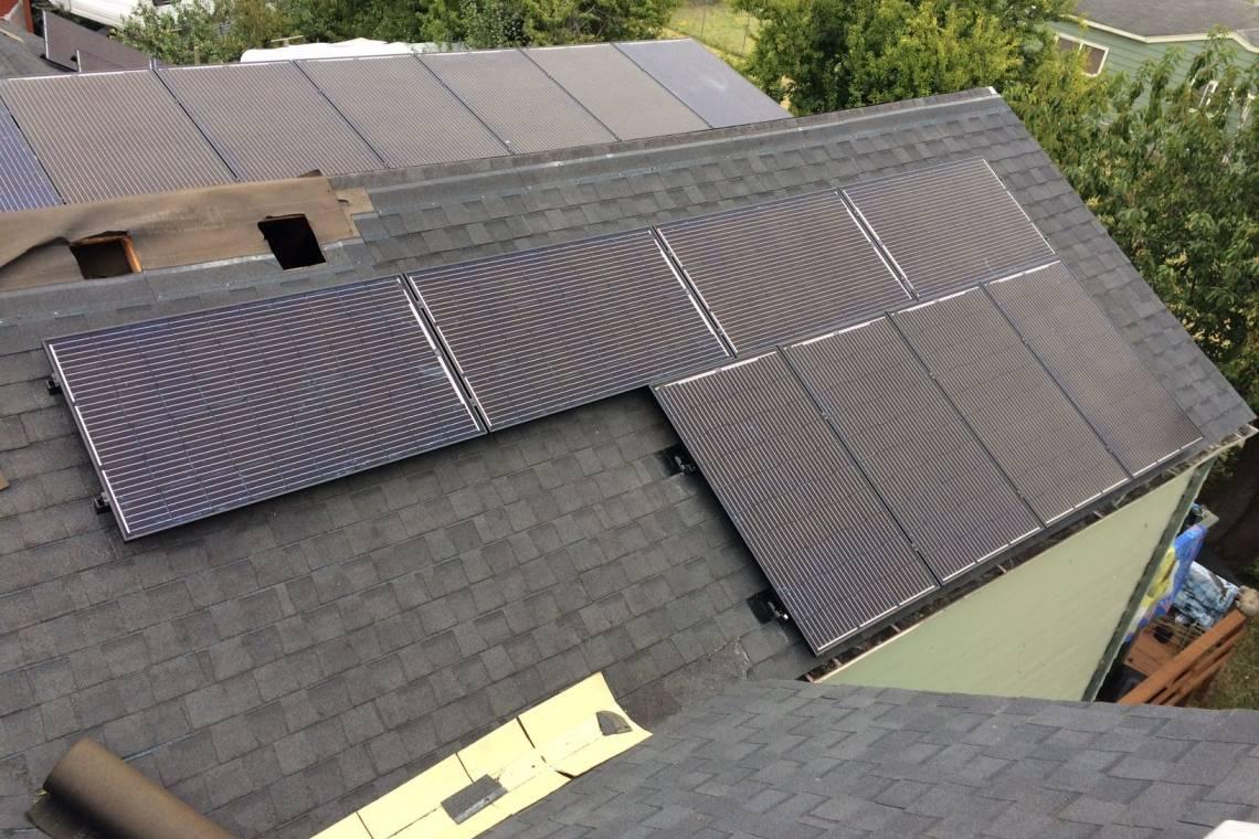 Asphalt Shingle Solar Panel Installation in Fortuna, CA (9.69 kW) - 1