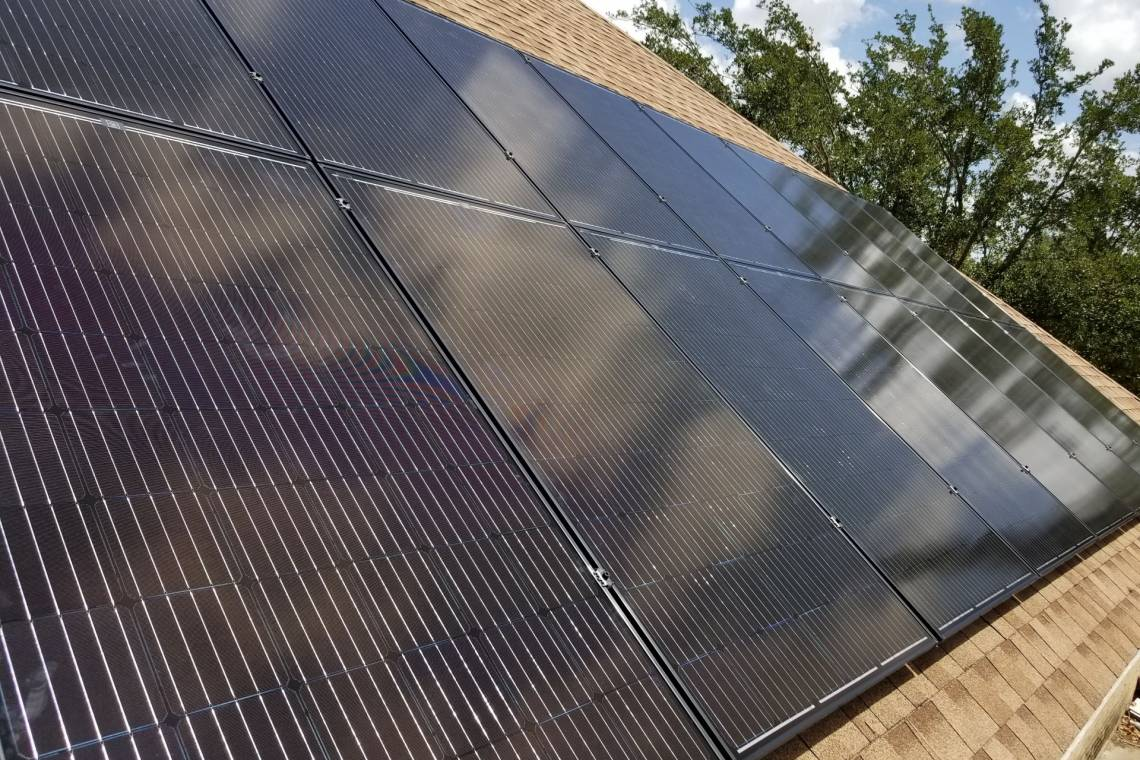Asphalt Shingle Solar Panel Installation in Laredo, TX (4.64 kW)