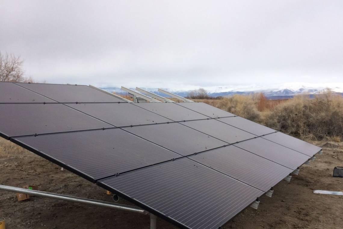 Ground Mount Solar Energy System in Fallon NV