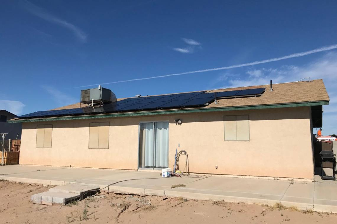 Ground Mount Solar Power System in Yuma AZ