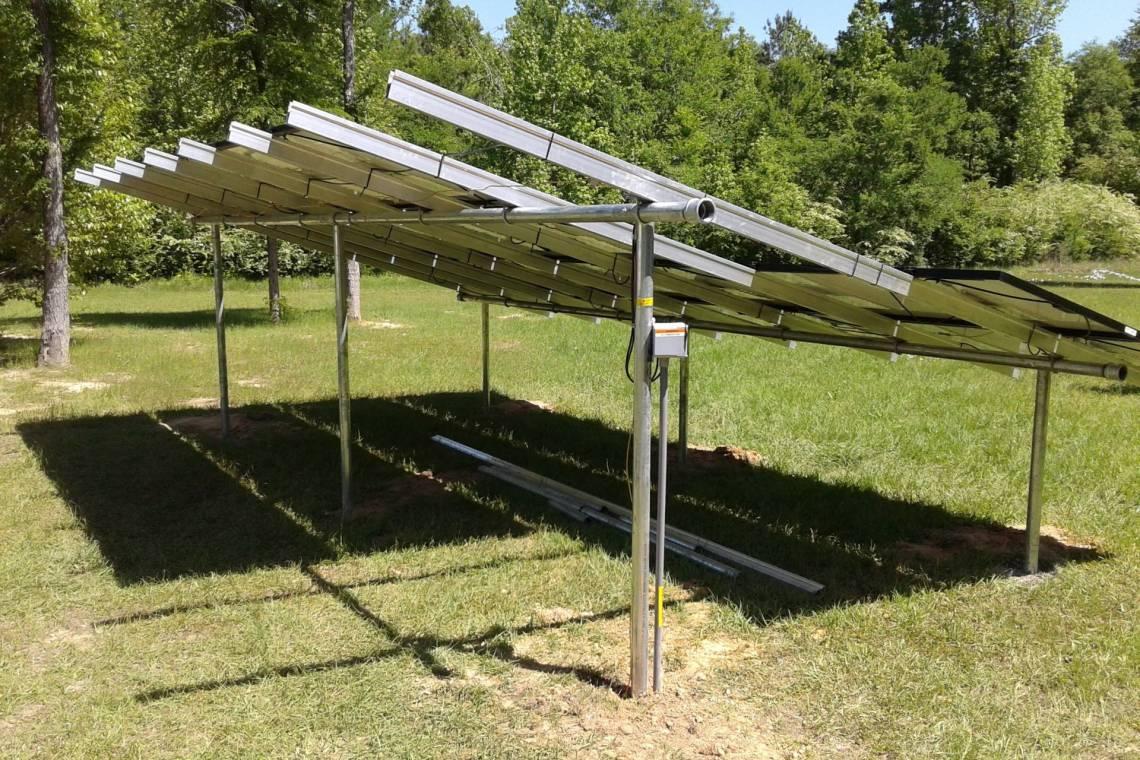 Ground Mount Solar Racking in Waskom TX | greensolartechnologies