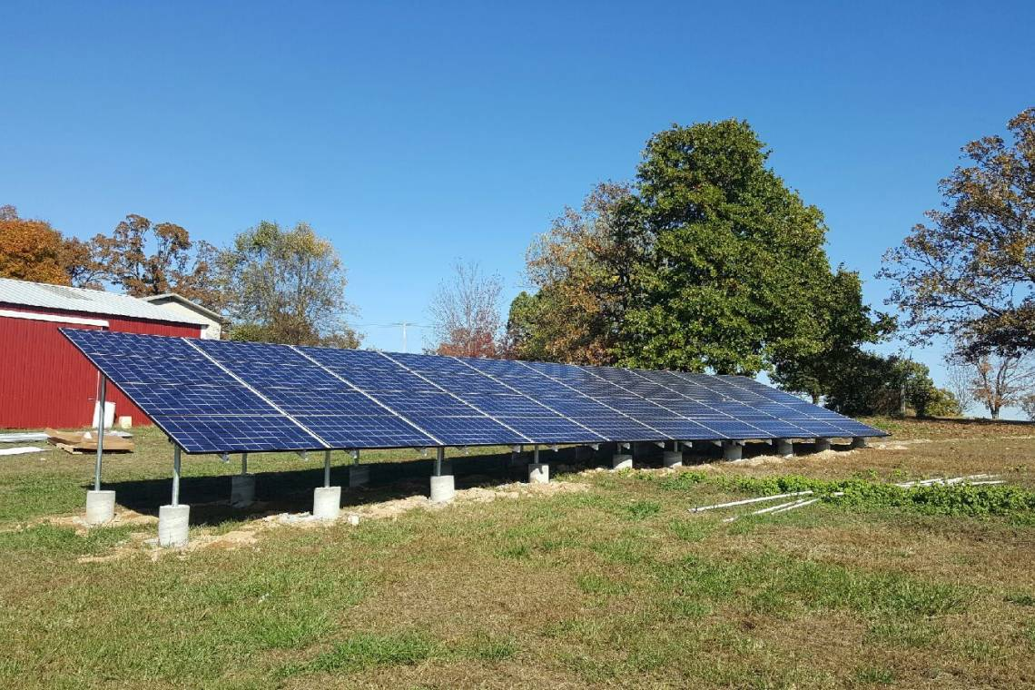 Newfoundland Solar Panel Install 2 Greensolartechnologies Wiring