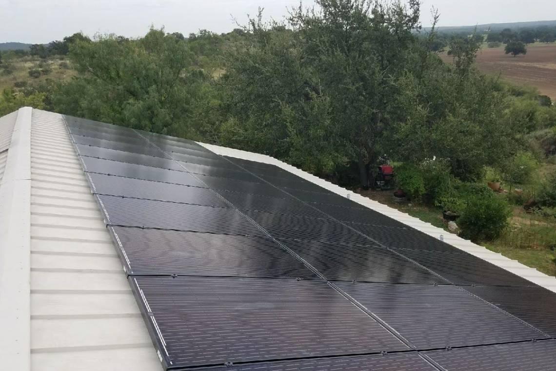 Solar Panel Installation in Lometa, TX - 7