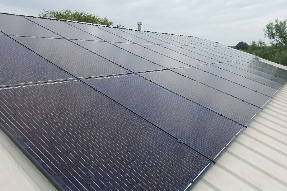 Solar Panel Installation in Lometa, TX - 5